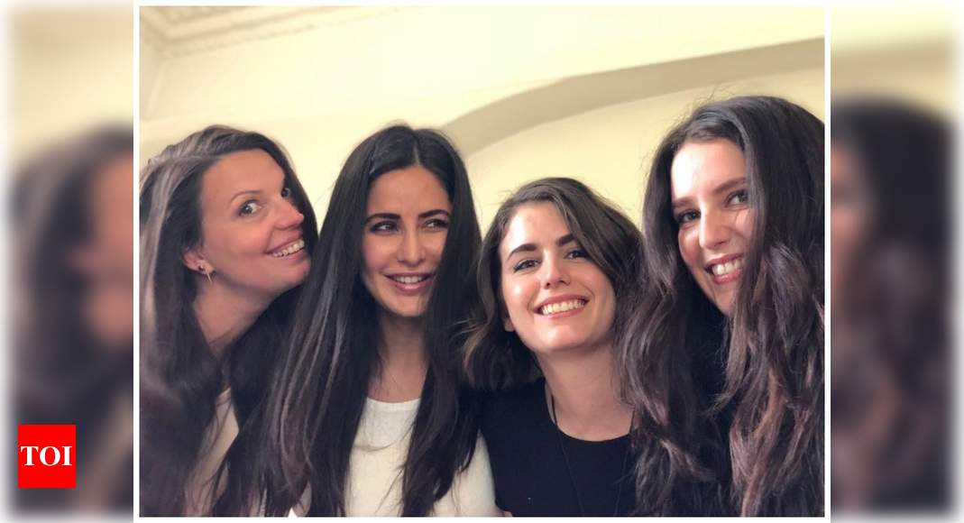 THIS happy picture of Katrina Kaif, Isabelle and their ...